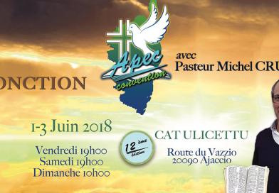 APEC : L'ONCTION avec Pasteur Michel Cruz