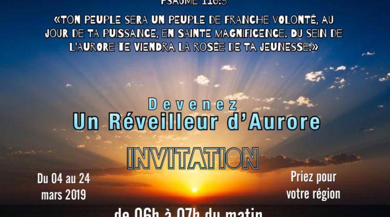 Projet «Réveilleur d'Aurore»
