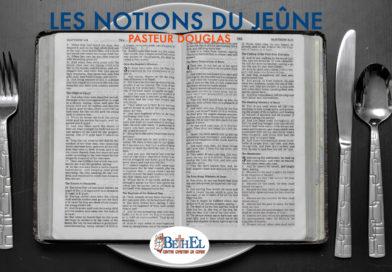 Notions sur le Jeûne