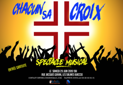 CHACUN SA CROIX – Spectacle Musical Juin 2019