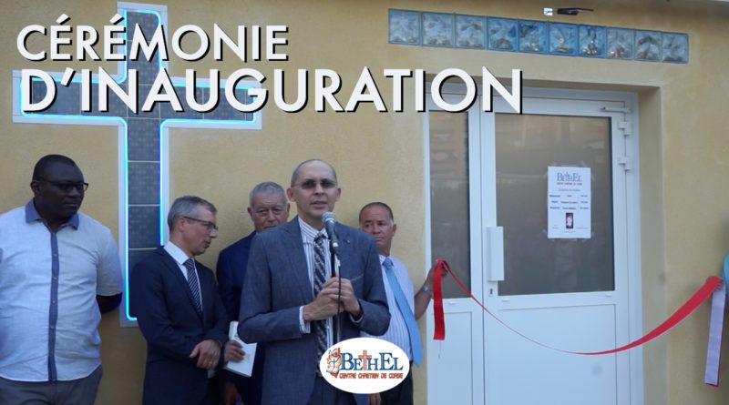Cérémonie d'Inauguration