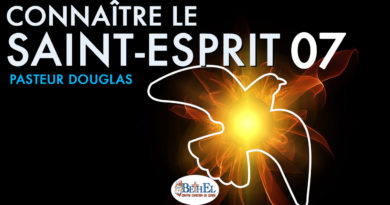 Connaître le Saint-Esprit part 07 : les Charismes de l'Esprit