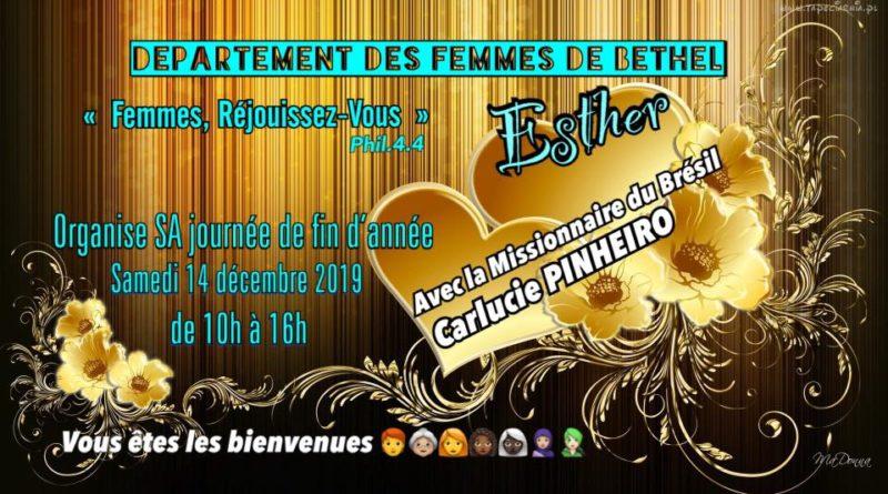 Réunion dept Esther