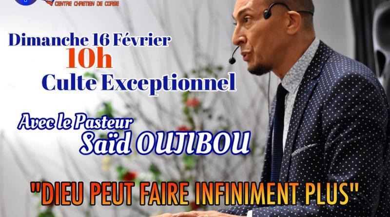 Culte d'Exception avec Saïd Oujibou