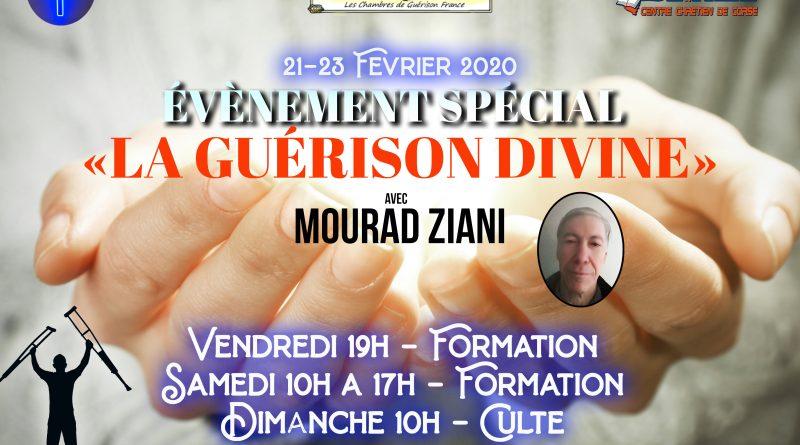 Événement spécial formation «la Guérison Divine»