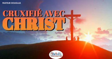 Cruxifié avec Christ