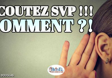 Écoutez SVP !!! Comment ?!